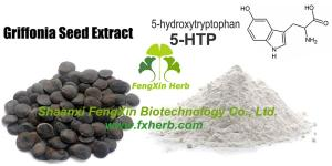 Wholesale botanical extract: Large Stock of 99% 5-HTP (5-hydroxytryptophan) with Fair Price