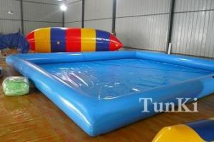 Wholesale inflatable toys: Inflatable PVC Water Continuous Aqua Amusement Pool