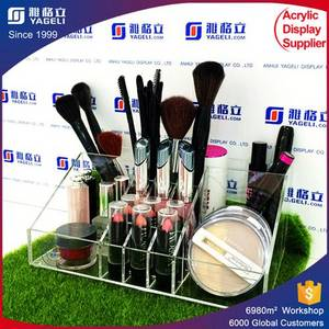 Wholesale acrylic holder: Acrylic Cosmetic Makeup Organizer/ Makeup Brush Display/ Makeup Brush Holder