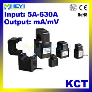Wholesale transformer core: HEYI Micro Split Core Current Transformers KCT 1-630A with Ma or 333mV Output