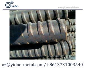 Wholesale flate: Prestressing Thread Steel Bar PSB930 M36 USED for Bridgeconstruction