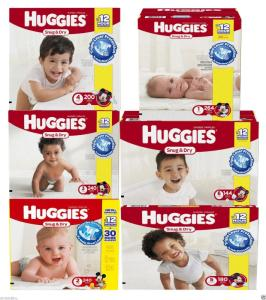 Wholesale baby diapers: Huggies Snug & Dry Baby Diapers Size 1, 2, 3, 4, 5, 6