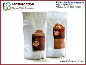 Wholesale roasted arabica coffee: Roasted Arabica Coffee Beans - An Thai Coffee