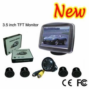 Wholesale car monitor: 3.5 Inch TFT Monitor Camera Car Parking Sensor System