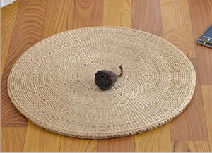 Wholesale round mat: Eco Friendly Typha Orientalis Round Cushion Sitting Mats