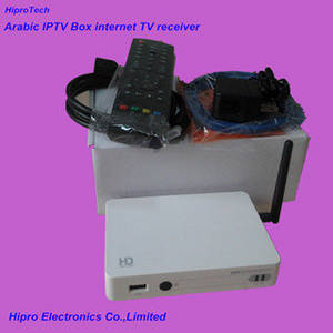 Wholesale internet iptv: Arabic IPTV Box Internet TV Receiver