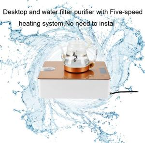 Wholesale kitchen water purify: Desktop and Water Filter Purifier with Five-speed Heating System,No Need To Instal