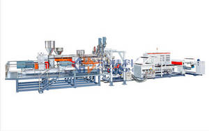 Wholesale sheet extrusion machine: 7 Layers Co-extrusion Sheet Machine