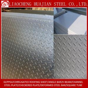 Wholesale steel stock: Tear Drop Pattern Checkered Steel Checker Sheet Plate in Stock