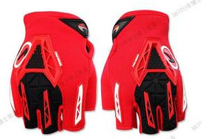Wholesale Sports Gloves: Off-Road Safety Racing Riding Motorbike Gloves Half Finger Bicycle Gloves