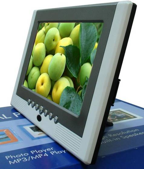 Sell 7 inches TFT Screen Digital Photo Frame with TV function