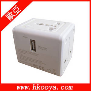 Wholesale adaptor charger: Travel Adapter with 2.1A USB Charger,Travel Adaptor(TA-128)