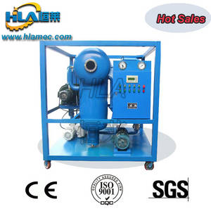 Wholesale manual operated lube: Double Vacuum Transformer Oil Cleaner Oil Filtration Oil Purification Oil Purifier