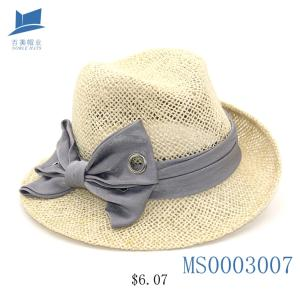 Wholesale fisherman hats: Custom Men Summer Paper Fedora Hat