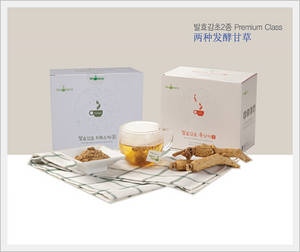 Wholesale ginseng: Fermented Licorice Tea, Korean Red Ginseng Tea