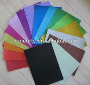 Wholesale metallic color glitter: Glitter Paper Sheet