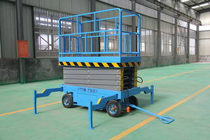 Wholesale fixed scissor lift: CE ISO Mobile Electric Hydraulic Scissor Lift Man Lift
