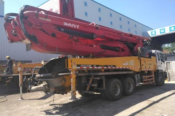Sell Used Sany 46 Meters Concrete Boom Pump