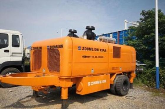 Refurbished Concrete Trailer Pump