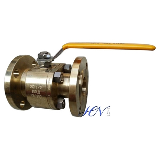 Sell Bronze Flanged Reduced Bore Floating Ball Valve