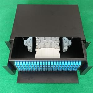 Wholesale fiber optical distribution frame: Rack Mount 96core SC Port Fiber Optical Distribution Frame