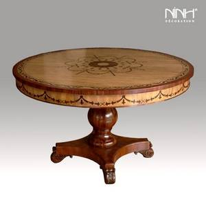 Wholesale marquetry: Round Table