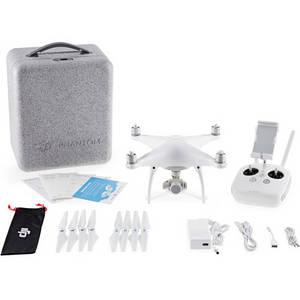 Wholesale sdxc card: DJI Phantom 4 Quadcopter Kit with Two Spare Batteries