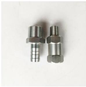 Wholesale non-standard nuts: SS304 SS316 Machining Parts Male Thread Equal Combination Hose Nipple for Plumbing Pipes, Threaded B