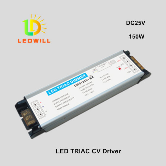 DC24V/150W Triac Driver for LED Light Dimmer  LED Dimmable Power Supply Constant Voltage Driver