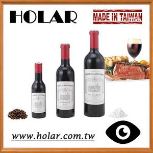 Wholesale red wine: [Holar] Taiwan Made Red Wine Bottle Shaped Pepper Mills
