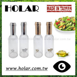 Wholesale plastic oil bottle: [Holar] Taiwan Made Plastic Vinegar and Olive Oil Bottles Set with Acrylic