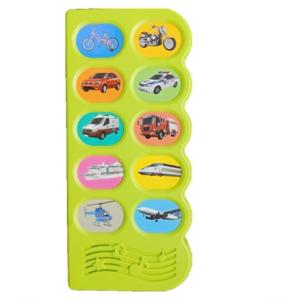 Wholesale kids bag toy: Customized 2017 30 Button Push Button Educational Toy Manufacturer