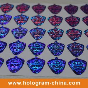 Wholesale security stickers: Colorful Security 3D Laser Holographic Sticker
