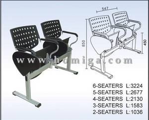 Wholesale Waiting Chairs: Plastic Steel Public Chairs