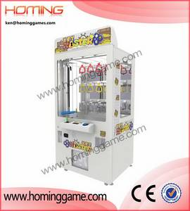 Wholesale amusement game machine: Top Sale Key Master Crane Game Vending Machine