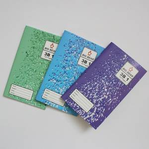 Wholesale exercise book: 7*7 Mm Ruled Line Mini Exercise Book Staple Binding