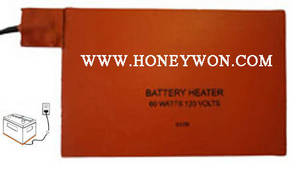 Wholesale electronic medical equipment: Silicone Battery Heater