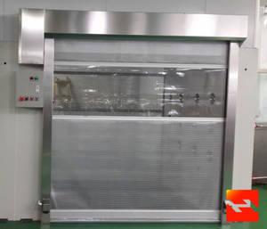 Wholesale roll up doors: Fast Rolling Up Door for Workshop  PVC Door