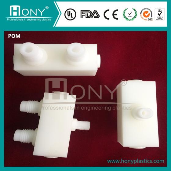 Sell POM Precise Machining CNC Plastic Machine Par