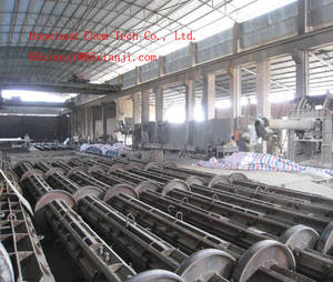 Wholesale pre-stressed concrete spun pole: Spinning Machine,Spinning Machinery,Pole Spinning Machine