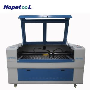 Wholesale laser tube cutting machine: Laser Tube Cut Two Heads Laser Engraving Cutting Machine 1410 for Leather