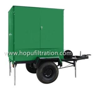 Wholesale entirely waterproof: Mobile Trailer Wheel Mounted Vacuum Transformer Oil Filtration Plant for Series ZYM
