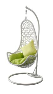 Wholesale indoor furniture: Hormel Leisure Furniture Pear Design Indoor Outdoor Rattan Hanging Basket Chair with Stand