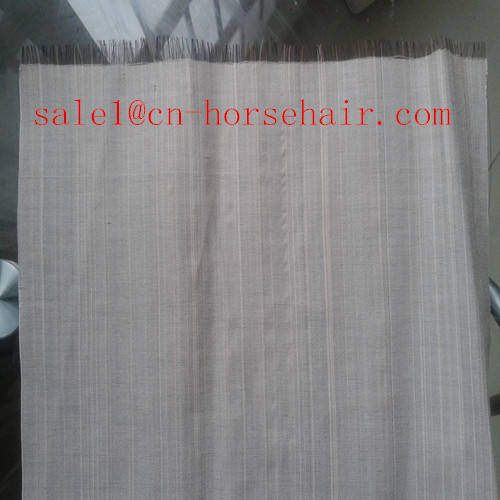 Sell horse hair fabric for decoration