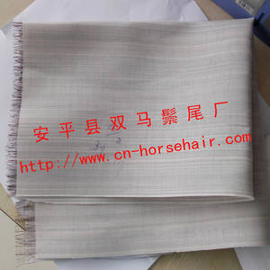 Wholesale horse tail hair: Horse Tail Hair Fabric for Clothes