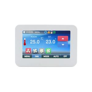 Wholesale applicator: Color Touch Screen Fan Coil Application Thermostat