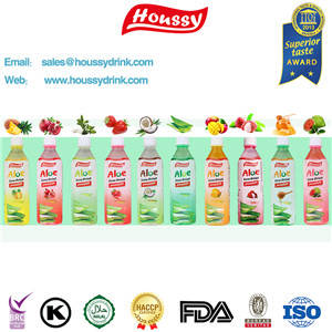 Wholesale aloe vera drinks: Famous Brand Houssy Aloe Vera Drink with Big Pulp