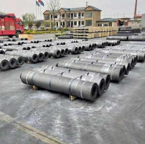 Wholesale silicon oxide tube: Graphite Electrode (RP)  High Mechanical Strength Graphite Electrode
