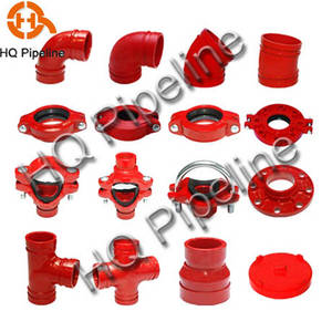Wholesale grooved fittings: Ductile Iron Grooved Fittings