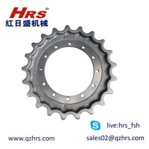 Wholesale undercarriages: Daewoo DH55 Sprocket Mini Excavator Undercarriage Part-Hongrisheng Machinery